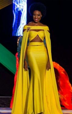 15 Stunning Photos Of Davina Bennett, The Miss Universe Contestant With The Glorious Afro Who's Breaking The Internet Davina Bennett - Miss Jamaica 2017 African Wear, African Dress, Blue Bridesmaid Dresses, Prom Dresses, Wedding Dresses, Latest African Fashion Dresses, Elegant Dresses, Pageant, Dress To Impress