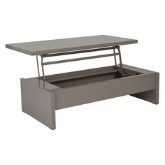Have to have it. Euro Style Aurora Lift Top Coffee Table - Latte Lacquer - $377.82 @hayneedle