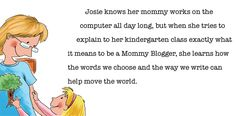 """""""My Mommy is a Blogger"""" by Sommer Poquette - Green Clean Mom"""