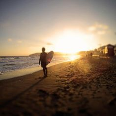 Sandown Beach, Surfer, Isle of Wight