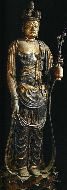Nara Shorin-ji Temple - Juichimen Kannon (a national treasure)