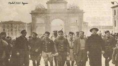 Entrada por la Puerta de Toledo del Ejército Nacional 29/03/1939
