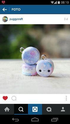 Galaxy macaron