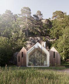 Micro Cluster Cabins — Reiulf Ramstad Arkitekter