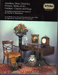 Jewellery, Silver, Ceramics, Pictures, Works of Art, Furniture, Carpets and Rugs, Phillips