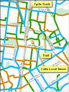 """""""Mapping comfort: how psychological stress influences bike maps"""" ~ by Nathan Wilkes, City of Austin"""