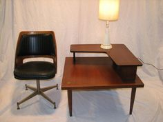 Mid Century Modern American of Martinsville two tiered by GreStuff, $350.00