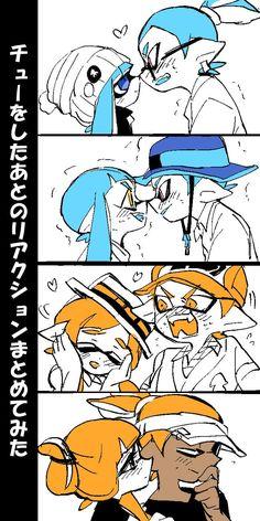 Splatoon kiss you♡