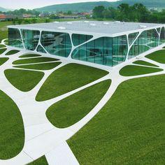 Conceptual Architecture, Colour Architecture, Pavilion Architecture, Futuristic Architecture, Sustainable Architecture, Landscape Architecture, Landscape Design, Buildings Artwork, Unique Buildings