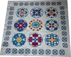 Moroccan Tile - Embroidery, machine embroidery design by Julie Hall Designs, machine embroidery ideas
