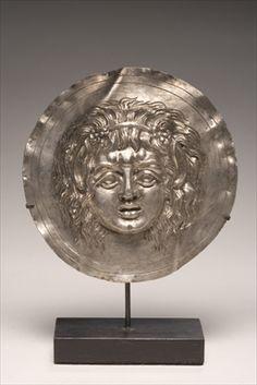 Phalera, Hellenistic (silver) Greek, 1st century.