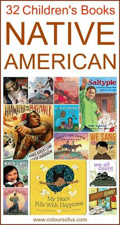 Native American Children's Books, Ages 0 to 12