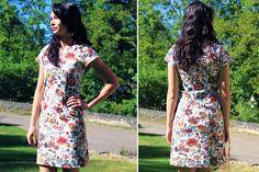 Short Sleeve Dresses, Dresses With Sleeves, Diy And Crafts, Boho, Sewing, Fashion, Moda, Dressmaking, Sleeve Dresses