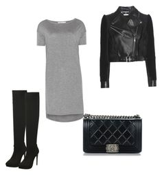 ☺️ by demi-tessa on Polyvore featuring polyvore, moda, style, T By Alexander Wang, Alexander McQueen, Chanel, fashion and clothing