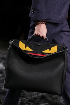 Fendi Men's Fall/Winter 2014-15 Collection Close Up.