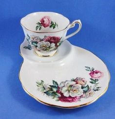 "Royal Standard ""Irish Elegance"" Tea Cup and Saucer Tennis or Snack Set  ❤❤❤"