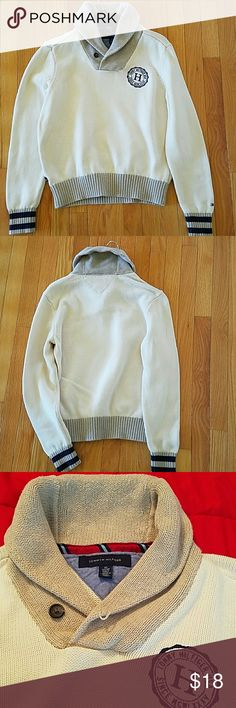 ✨Tommy Hilfiger Shawl Collar Sweater✨ ✨Mens/Boys Sweater✨Dress up or for a casual look✨ Tommy Hilfiger Sweaters