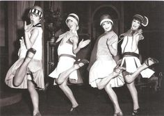 "Source: Picture The was known as the ""Jazz Age"". During the the Jazz Age, a new dance that swept the nation was created called the ""Charleston"". Flapper Girls, Flapper Style, 1920s Flapper, 1920s Style, Flapper Dresses, Flappers 1920s, Flapper Fashion, Fashion 1920s, Fashion Men"