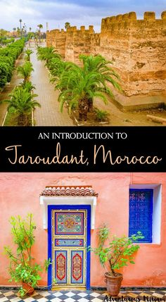 """Has anyone ever offered to buy you for 100 camels? Taroudant, with its charming souks and city walls, is just the place for it. The fortified Berber town of Taroudant, also known as """"Little Marrakech"""", is the perfect place to see everyday Moroccan life in a relaxed atmosphere. Here's an introduction."""