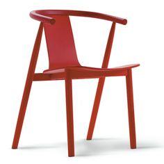 Jasper Morrison - BAC chair in red #furniture