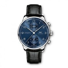 The Portugieser is one of the oldest and best-known watches from IWC. Discover the iconic design of IWC's Portugieser watches and find your timepiece here. Best Watches For Men, Cool Watches, Iwc Pilot, Iwc Watches, Wrist Watches, Beautiful Watches, Automatic Watch, Luxury Watches, Omega Watch