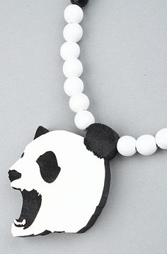 The Angry Panda Necklace in Multi by GoodWood #karmaloop