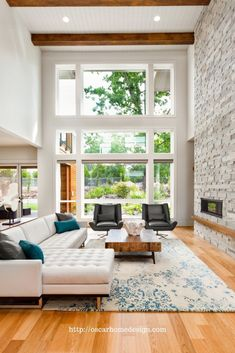 Contemporary living room is more than just a modern one. From our list of contemporary living room i. Rustic Contemporary, Modern Contemporary Living Room, Modern Living Rooms, Living Room Plan, Contemporary Cottage, Contemporary Apartment, Contemporary Wallpaper, Contemporary Chandelier, Sunk In Living Room