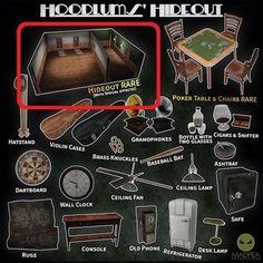 MadPea Hoodlums' Hideout  - Skybox RARE