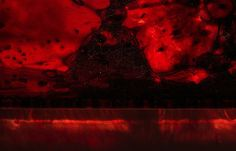 Blood Preserved in Plexiglass Embodies Life and Death