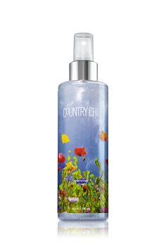 Country Chic™ Shimmer Body Mist - Signature Collection - Bath & Body Works - have almost used it up ; Body Works, It Works, Bath And Bodyworks, Body Mist, Body Spray, Smell Good, Country Chic, Body Lotion, Body Care