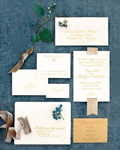 "See+the+""The+Invitations""+in+our+A+Romantic+Cream-And-Ivory+Wedding+at+a+Historic+Virginia+Hotel+gallery"