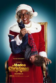 Ho no she DIDN'T!  New teaser poster for Tyler Perry's A Madea Christmas - Starts December 13!  #HoHoHo