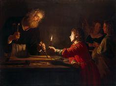 Honthorst Gerrit van - Childhood of Christ.
