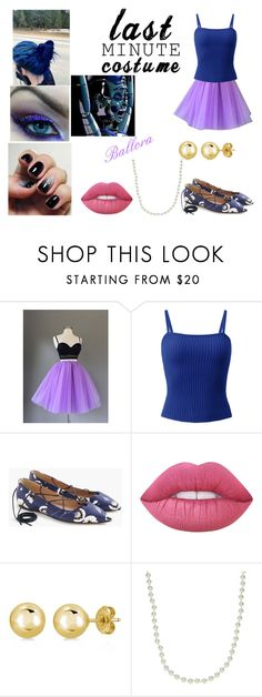 """Ballora (Last Minute Costume)"" by midnightsky-heart ❤ liked on Polyvore featuring J.Crew, Lime Crime, BERRICLE, Givenchy and Freddy"