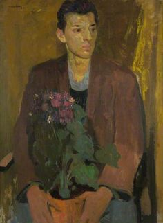 Portrait of a Young Man by David Donaldson (1916-1996)