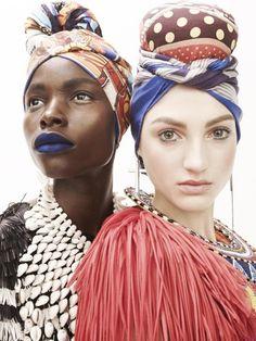 Head Wrap Inspiration   #vlisco #headwrap #fashion #trend