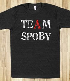 I'm team Spoby always has been always will be since the beginning!!!