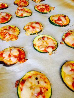 21 Day Fix Mini Zucchini Pizzas