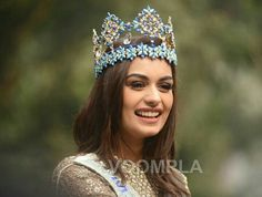 Pageant Crowns, Pageant Girls, Tiaras And Crowns, Bollywood Celebrities, Bollywood Actress, World Winner, Miss Independent, Miss India, Miss World