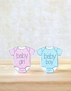 Baby Onesie Mini Cards