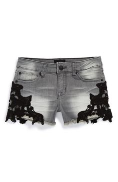 Hudson Kids Lace Cutoff Shorts (Big Girls) | Nordstrom