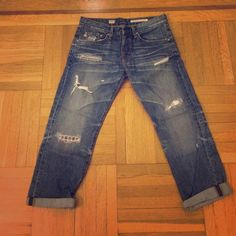 AG  Adriano Goldschmied Jeans AG Adriano Goldschmied Ex-Boyfriend cut jeans. Worn once in brand new condition AG Adriano Goldschmied Jeans Boyfriend