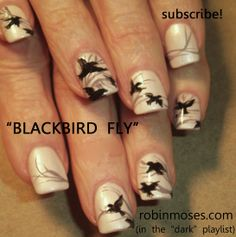 Nail-art by Robin Moses:http://www.youtube.com/watch?v=STxjVYq2-HA