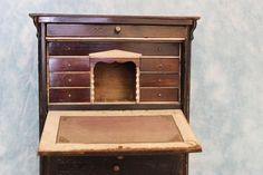 Antique Biedermeier Drop Front Secretary Furniture for Your French from turnofthecenturyantiques on Ruby Lane