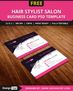 10 best free business card images on pinterest business card psd free hair stylist salon business card template psd cheaphphosting Choice Image