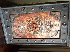 Steampunk, Industrial and vintage styled items for home decor.