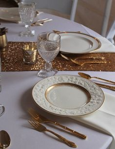 gold-china-collection-southern-Vintage-Rental