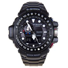 Casio Gulfmaster G-Shock Shock Resist Watch GWN-1000B-1A GWN1000B