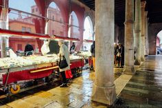 Verona Italy, Puglia Italy, Venice Italy, Italy Vacation, Italy Travel, Rialto Market, Famous Fish, Italian Market, The Fish Market