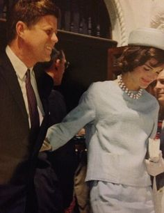 President JFK and First Lady Jacqueline Kennedy